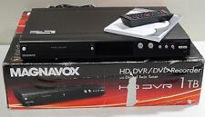 Magnavox 1TB MDR867H/F7 HDD DVR DVD Recorder HD Digital Tuners 1TB