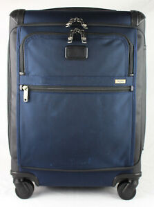TUMI 'Alpha 2' Blue Nylon Continental Expandable Front Lid Carry-On - 22561NVYD