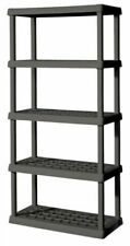 5 Shelf Unit - Gray