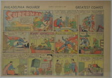 SUPERMAN SUNDAY COMIC STRIP #2 Nov 12, 1939 2/3 FULL Philadelphia Inquirer RARE