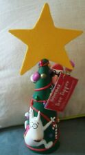 ~ Hallmark Shoebox Maxine Christmas Tree Topper, with Tag