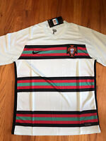 Nike Portugal Away Mens National Soccer Jersey (M) Mint Green