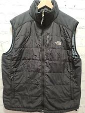 The North Face Men's Size Large Lg Black PrimaLoft Pocket Vest