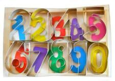 Numbers Deluxe Cookie Cutter Set - 9 Piece