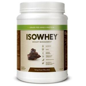Isowhey Complete Ivory Coast Chocolate 672g Weight Management Gluten Free Fibre