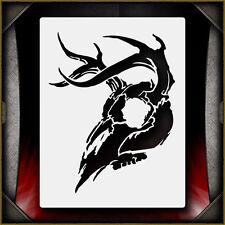 Deer Skull 1 -  Airbrush Stencil Template Airsick
