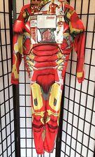 "Marvel's Avengers Iron Man Boy Large 10-12 ""Age of Ultron"" Halloween Costume NWT"