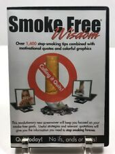 Smoke Free Wisdom DVD Over 1400 Stop Smoking Tips Quotes Graphics Quit Smoking