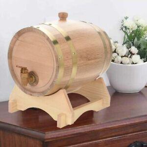 Kleines Weinfass 5L Holzfaß Fässchen Wein Whisky Schnaps Kastanie Lagerung Fass