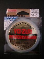 Yo-zuri Powercarbon Super fluorocarbon Leader Crystal Clear 25 lb 30 yd