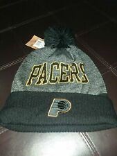 Indiana Pacers Mitchell & Ness NBA Black Board Knit Beanie