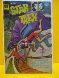 Star Trek #40 Whitman Vintage Science Fiction Comic, 1976, Dr. McCoy, Enterprise