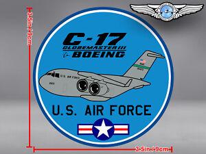U.S. AIR FORCE US USAF PUDGY BOEING C17 C 17 GLOBEMASTER DECAL / STICKER