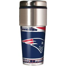 NFL New England Patriots 360 Wrap Travel Tumbler Fan Coffee Mug Cup
