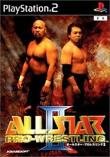 Used PS2 All Star Pro Wrestling II Japan Import (Free Shipping)