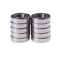 10pcs 6902-2RS Bearing 15x28x7 mm Metric Thin Section Ball Bearings 6902RS FT
