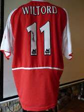 maillot Arsenal Wiltord 2002-2003 02-03 shirt jersey Bordeaux Lyon Rennes France