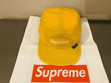 Brand New Supreme Cordura Camp Cap Yellow 55959