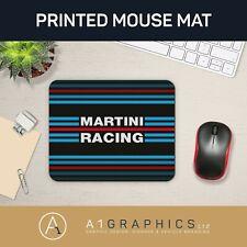Martini Racing Mouse Mat Printed Mouse Pad Gaming Mat