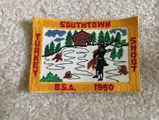 Old Southtown Turkey Shoot B.S.A. 1950 Boy Scout Patch