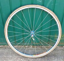 Vintage Mavic Cosmos 700c Front Wheel With Skewer, Stainless Spokes