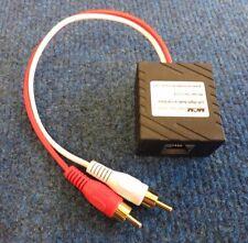 MCM Custom Audio 50-7724 Left / Right Stereo Audio Balun Over Ethernet