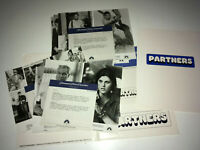 PARTNERS Orig Movie Presskit 1982 Gay Cop Comedy 7 Photos Ryan O'Neal John Hurt