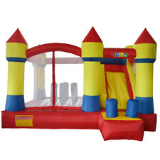 YARD Inflatable Bounce House Jumping Castle Bouncer Slide with blower Kid Fun