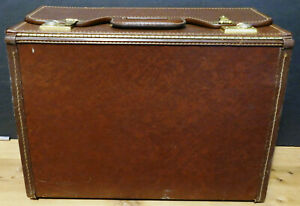 """Vintage STEBCO Stein Brothers Carrying Case, 18.5"""" L x 13.5"""" D x 8.5"""" W (Brown)"""