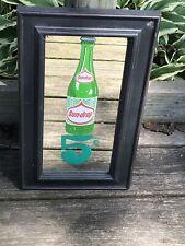 Vintage Sun Drop Cola Advertisement Mirror Gas Oil Soda Sign
