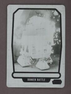 2013 Topps Star Wars Galactic Files 2 R2-D2 1/1 Black Printing Plate