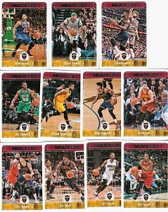 2017-18 HOOPS COMPLETE TEAM SETS (COMBINE SAVE ON SHIPPING) CURRY BRON + KOBE SP