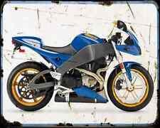 Buell Xb12R Firebolt 04 4 A4 Metal Sign moto antigua añejada De