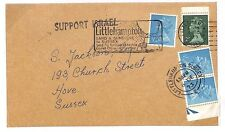 S241 1973 Israel Political Sussex Support GB Sussex Cover {samwells-covers}PTS