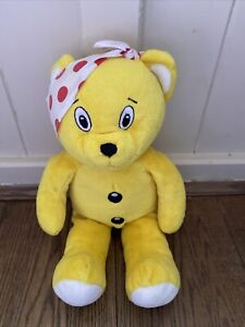 """Bear Factory Pudsey Bear Children in Need Soft Plush Toy 16"""" pre BABW Vintage"""