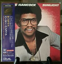 HERBIE HANCOCK- Sunlight, Japan MINI LP CD w/OBI SRCS-9502 SBM Master Sound OOP