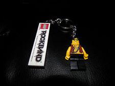 LEGO ROCKBAND MINIFIGURE KEY CHAIN - Rock Band Keychain