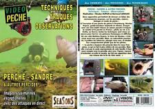 Perches, sandres et autres percidés Technique, traques, observation - Pêche des