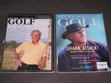 Greg Norman shark Golf book COLORADO MOUNTAIN Golfer PGA vacation golfing GUIDE