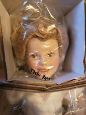 "The Danbury Mint 1999 10"" Shirley Temple ""Heidi"" Movie Classic Porcelain Doll"
