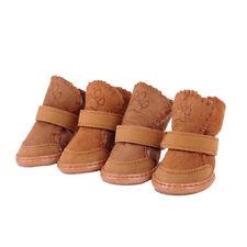 Pet Dog Winter Boots Warm Shoes Socks Waterproof Anti-Slip Puppy Snow Booties 4x