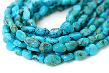 Genuine Natural Turquoise Beads Smooth Rough Nugget Chips Loose Gemstone PGS246