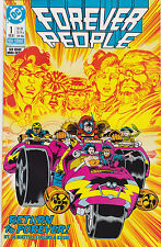 Forever People #1-6 Set DC Comics
