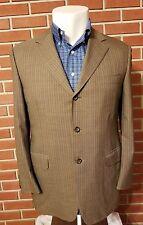 Canali Exclusive Collection 3-Button Blazer Super 150s Mens Size 42R(us) 52R(eu)
