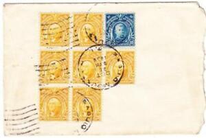 Philippines Sc#297(block of 7))#294-BAQUIO MOUNTAIN DEC/21/1936-TRANSPACIFI
