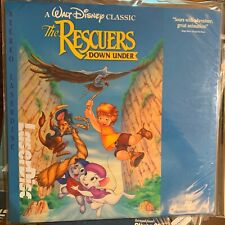 """The Rescuers Down Under / Disney  - 12""""  Laserdisc Buy 6 for free shipping"""