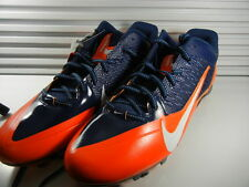 NIKE Alpha Pro Size 16 SIZE 16 Low Top Cleats 618055-406 Bears Colors NEW