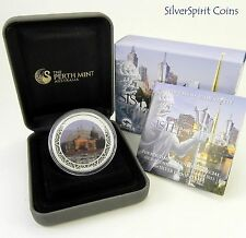 2013 $ SISTER CITIES MELBOURNE ANDA Coin Show Special 1oz Silver Proof Coin