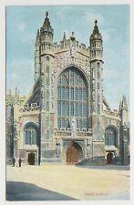 Somerset postcard - Bath Abbey