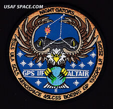AUTHENTIC GPS IIF-11 -ALTAIR- ATLAS V ULA 45 LCSS USAF SATELLITE Launch PATCH